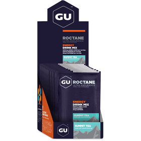 GU Energy Roctane Ultra Endurance Energy Drink Mix Box 10x65g, Summit Tea